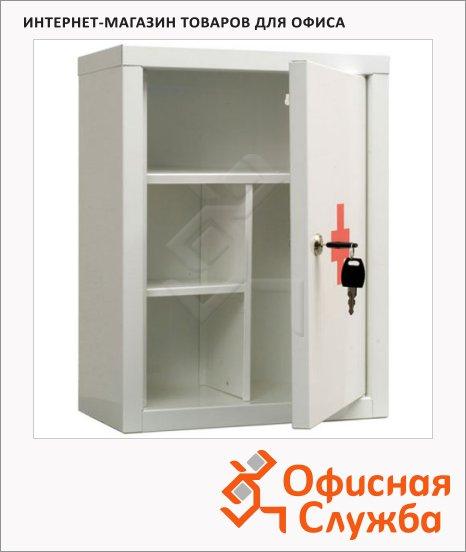 Аптечка офисная Amd MDA 39 2 съёмные полки, ключевой замок, 390x300x160мм
