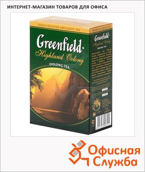 фото: Чай Greenfield Highland Oolong (Хайлэнд Оолонг) черный, листовой, 75 г