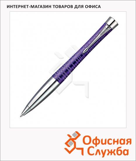 Ручка шариковая Parker Urban Premium Vacumatic K206 М, синяя, аметистово-жемчужный корпус