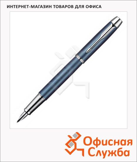 Ручка перьевая Parker IM Premium Historical colors F225 F, черная, синий корпус