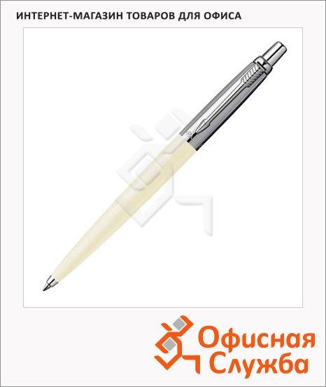 Ручка шариковая Parker Jotter Tactical K174 стержень M, синяя, белый корпус