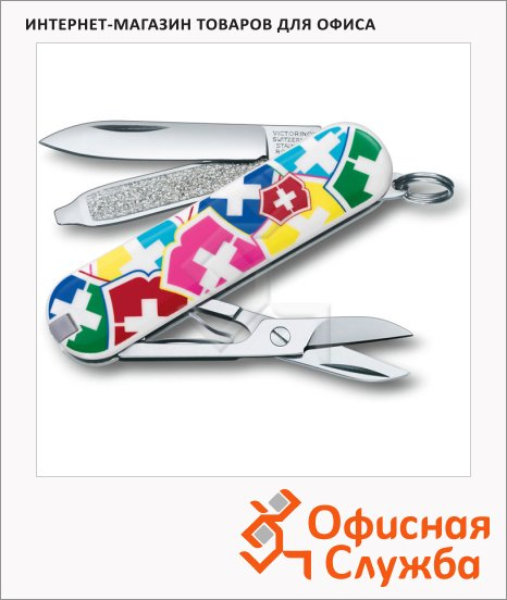 фото: Нож Victorinox Spartan VX Colors 91мм 11 функций