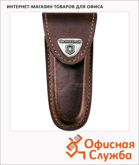 Чехол Victorinox 4.0533, для ножа 91мм 2-4 уровней, коричневый, кожаный