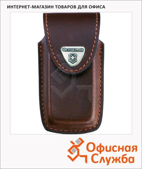 фото: Чехол Victorinox 4.0535 для ножа 91 мм 5-8 уровней, коричневый, кожаный