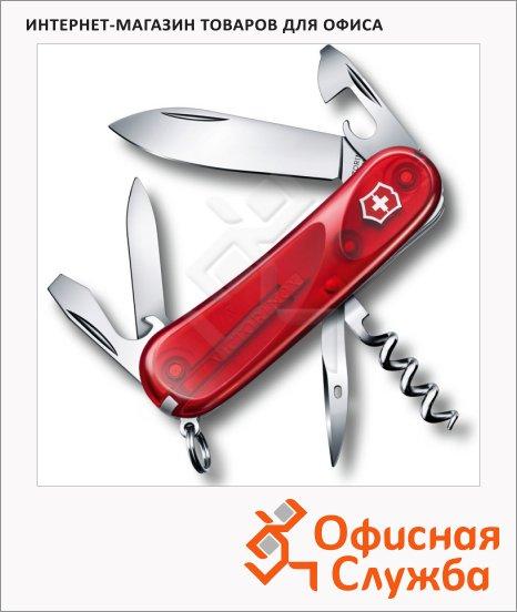 фото: Нож перочинный 85мм Evolution 10.600 2.3803.ET 13 функций, 2 уровня, красный