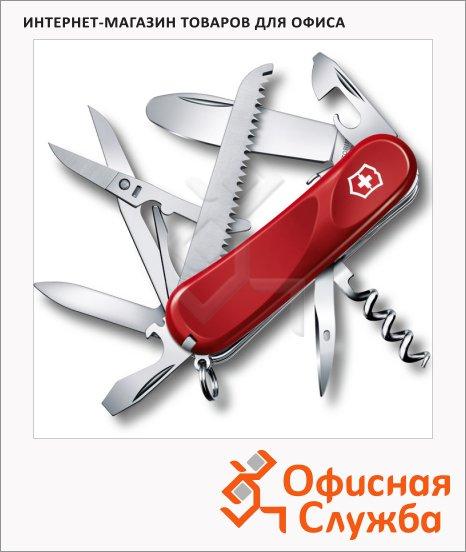фото: Нож перочинный 85мм Junior 03 2.3913.SKE 15 функций, 4 уровня, красный