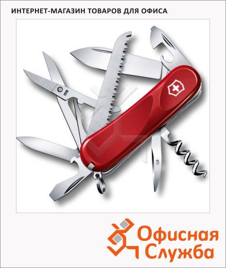 фото: Нож перочинный 85мм Evolution 17 2.3913.E 15 функций, 4 уровня, красный