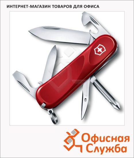 фото: Нож перочинный 85мм Evolution 11 2.4803.E 13 функций, 2 уровня, красный