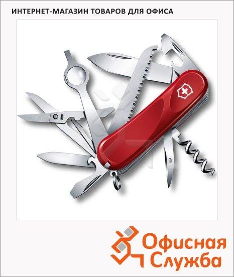 фото: Нож перочинный 85мм Evolution 23 2.5013.E 17 функций, 5 уровней, красный