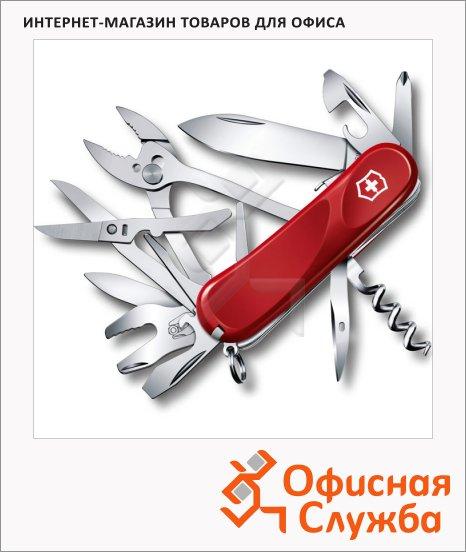 фото: Нож перочинный 85мм Evolution S557 2.5223.SE 21 функция, 5 уровней, красный