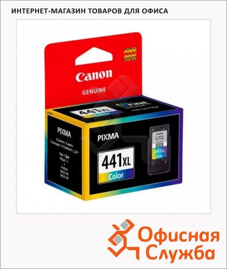 Картридж струйный Canon CL-441XL, цветной повышенной емкости, (5220B001)