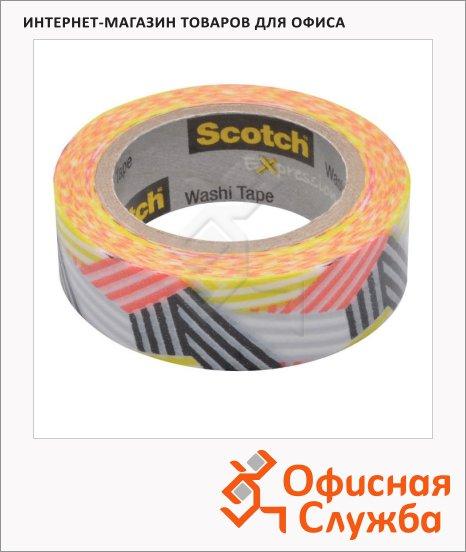 ������� ����� ������������ Scotch Washi 15�� �10�, �������