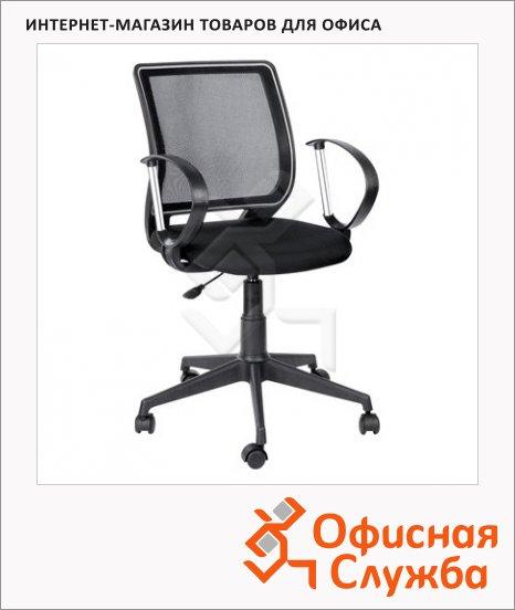 Кресло офисное Бюрократ Эксперт ткань, черная, крестовина пластик