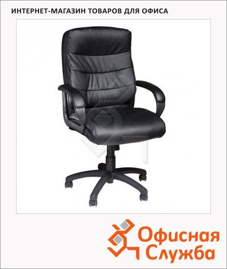 фото: Кресло руководителя Brabix Supreme EX-503 иск. кожа черная, крестовина пластик
