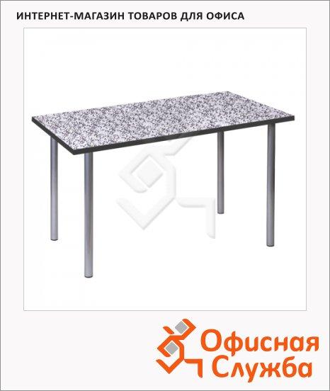 Стол для кафе Erich Krause Статус пластик, мраморная крошка, серебристый