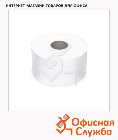Туалетная бумага Лайма Люкс 126092, в рулоне, белая, 170м, 2 слоя, 12 рулонов