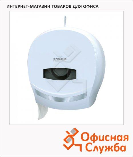 фото: Диспенсер для туалетной бумаги в рулонах Лайма Professional Mini 601427 белый