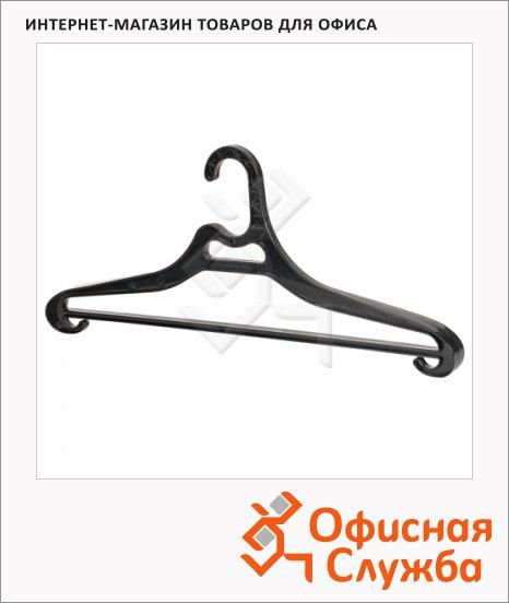 фото: Плечики для одежды Лайма Люкс 50-54 р черные, 47 см