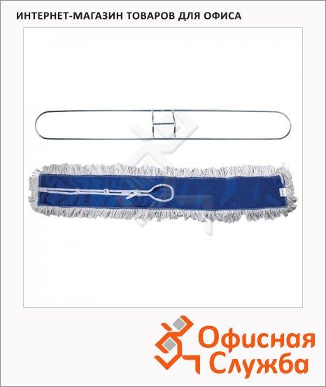 фото: Держатель-рамка для мопов Лайма Professional 110х15см с хлопковой насадкой МОП