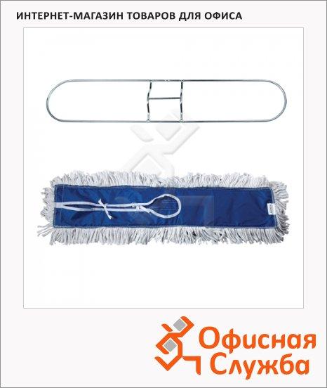 Держатель-рамка для мопов Лайма Professional 60х15см, с хлопковой насадкой МОП, 601505