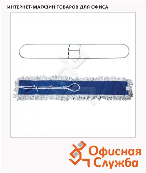 фото: Держатель-рамка для мопов Лайма Professional 90х15см с хлопковой насадкой МОП