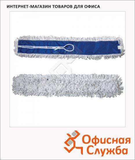 Насадка для швабры моп Лайма Проф на завязках, длинный ворс, хлопок, 110х15см