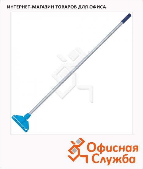 фото: Швабра Лайма Professional 118см с держателем для веревочной насадки МОП