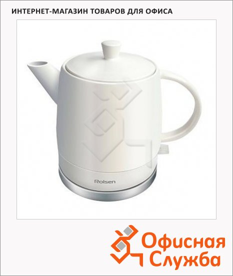 фото: Чайник электрический RK-1590CW белый 1.5 л, 1800 Вт