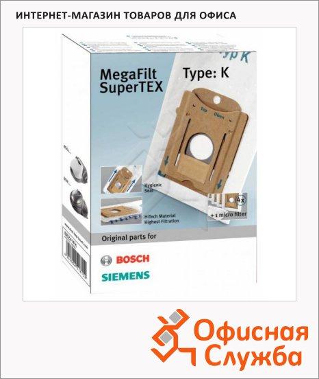 Пылесборник для пылесосов Bosch BBZ41FK 4 шт + микрофильтр