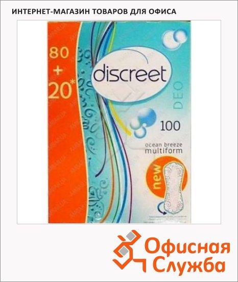 Прокладки Discreet Spring Breeze ежедневные, 100шт