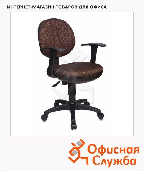 Кресло офисное Бюрократ CH-356AXSN коричневое, JP-15-7