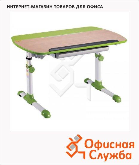 фото: Стол детский Conductor-12 ЛДСП бук/зеленый