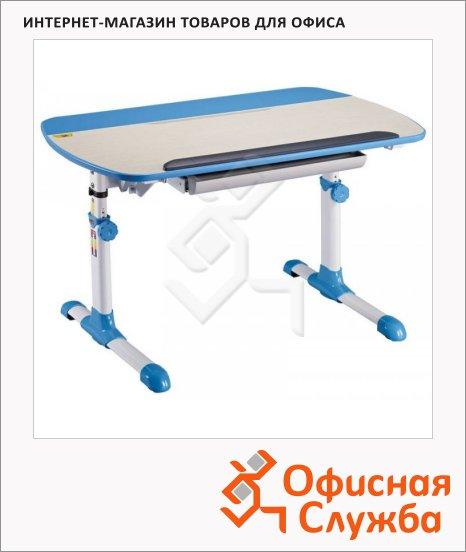 Стол детский Бюрократ Conductor-12 ЛДСП, молочный/голубой