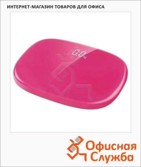 Весы напольные Rolsen RSL1505 розовые, до 150кг