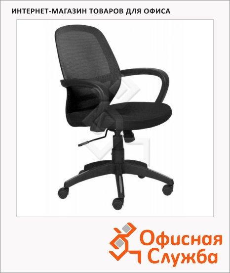 фото: Кресло офисное CH-499Z1 ткань черная, крестовина пластик