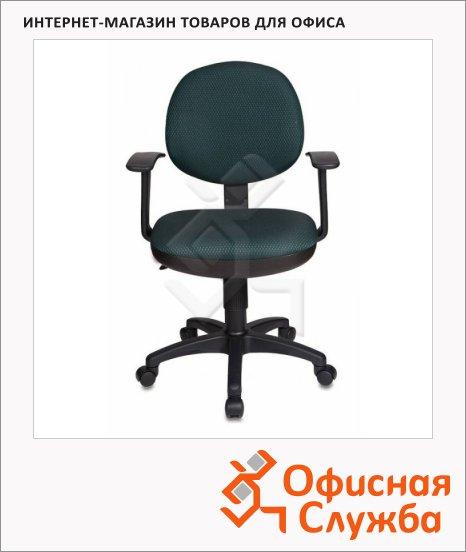 Кресло офисное Бюрократ CH-356AXSN ткань, зеленая
