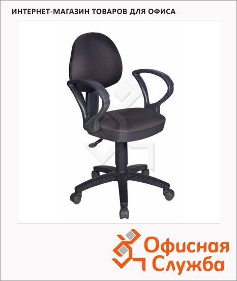 Кресло офисное Бюрократ CH-318AXN ткань, крестовина пластик, серая, темная, серая