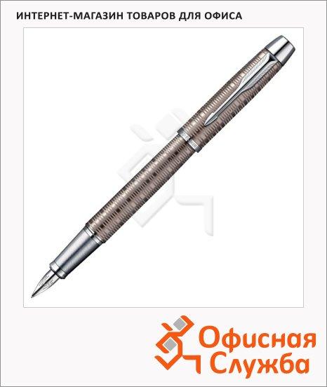фото: Ручка перьевая Parker IM Premium Vacumatic F224 F коричневый корпус, 1906777