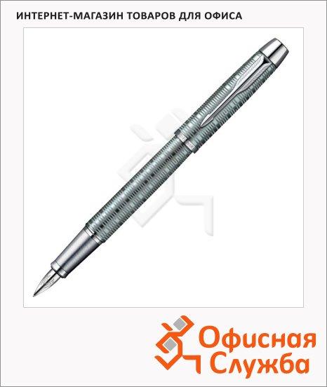 Ручка перьевая Parker IM Premium Vacumatic F224 F, зеленый корпус