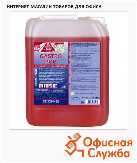 Чистящее средство Dr.Schnell Gastro Pur 10л, для удаления жировых загрязнений, 36047, 143445