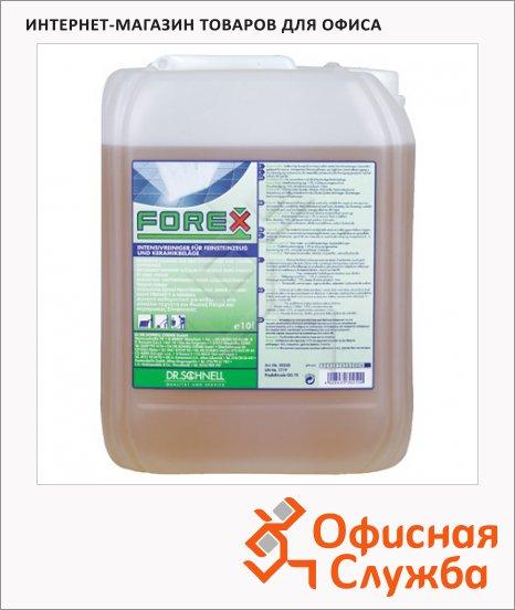 Моющее средство Dr.Schnell Forex 10л, для каменных пористых поверхностей, 30250, 143402