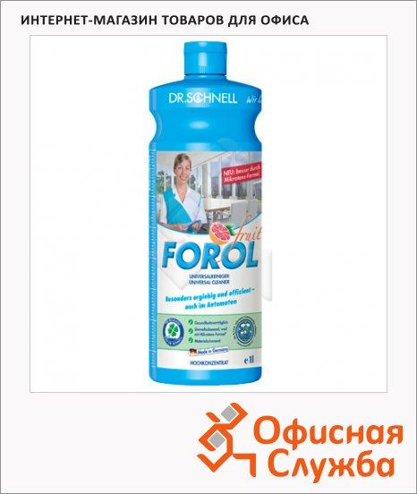 фото: Универсальное чистящее средство Dr.schnell Forol 1л для водостойких поверхностей, 30014, 143389