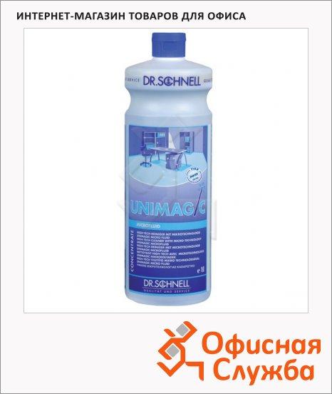 Универсальное моющее средство Dr.Schnell Unimagic 1л, для любых водостойких поверхностей, 30384, 143409
