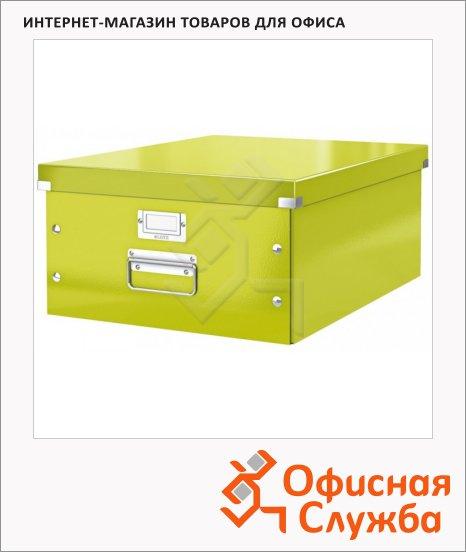Архивный короб Leitz Click & Store-Wow зеленый, A3, 369x200x482 мм, 60450064