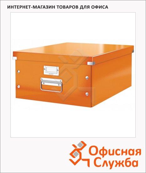 Архивный короб Leitz Click & Store-Wow оранжевый, A3, 369x200x482 мм, 60450044