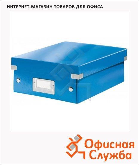 Архивный короб Leitz Click & Store-Wow синий, A4, 280x100x370 мм, 60580036
