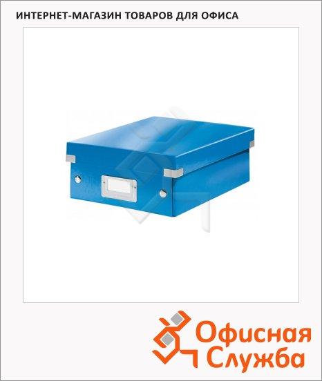 Архивный короб Leitz Click & Store-Wow синий, A5, 220x100x285 мм, 60570036