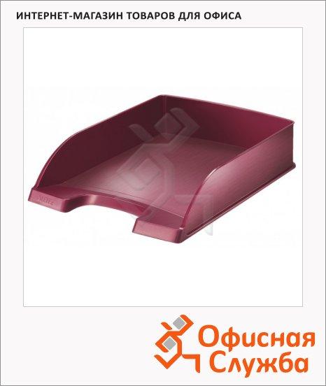 фото: Лоток горизонтальный для бумаг Leitz Style А4 красный, 52540028