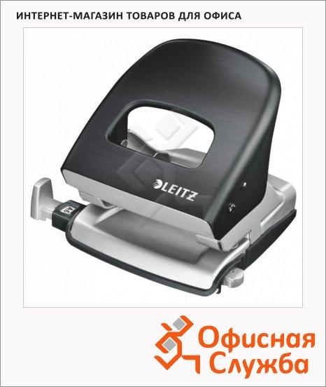 фото: Дырокол Leitz NeXXt Style до 30 листов черная сталь