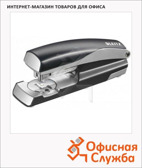 Степлер Leitz NeXXt Style №24/6, 26/6, до 30 листов, черная сталь